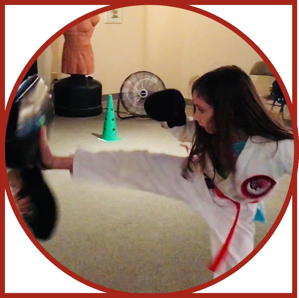 Girl-Front-Kick